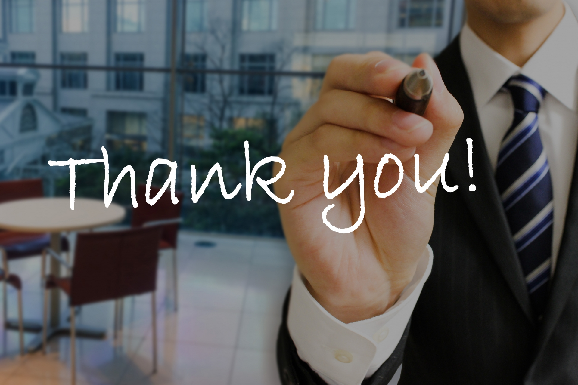 あなたの手助けありがとう!